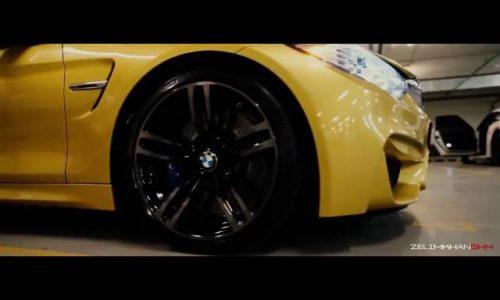 دریفت با BMW M4 در خیابان های مسکو!!!