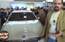 غرفه پرشیا خودرو – BMW i8 – BMW 730 Li – BMW 120i …