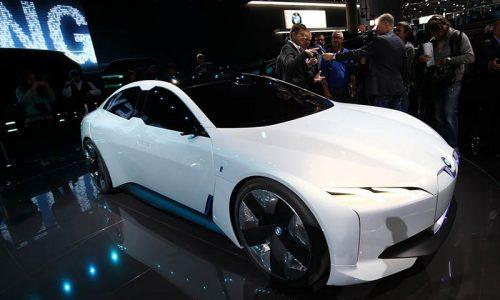 خودروی لوکس الکتریکی BMW + (عکس)
