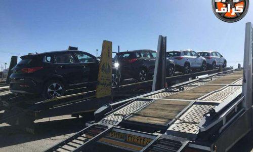 بارگیری خودروهای تیگو7 برای توزیع در سراسر کشور…